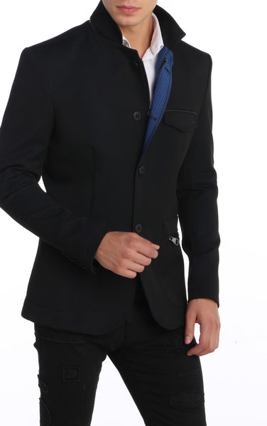RON TOMSON - Stand Collar Jacket - RNT23 - 1