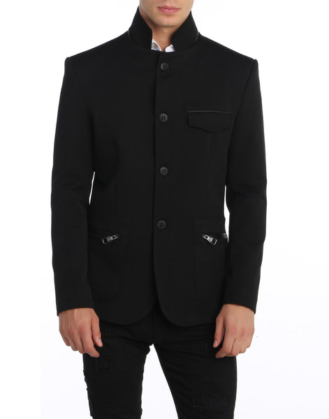 RON TOMSON - Stand Collar Jacket - RNT23 - 4