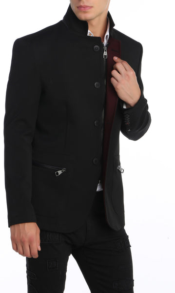 RON TOMSON - Stand Collar Jacket - RNT23 - 6