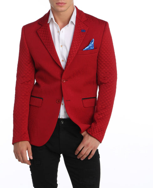 RON TOMSON - Fitted Brocade Blazer - RNT23 - 1