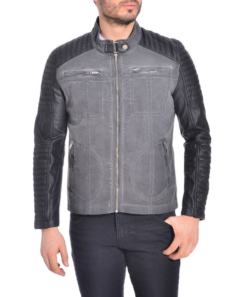 RON TOMSON - Moto Sleeve Zipper Jacket - RNT23 - 1