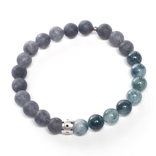 Natural Stone Bracelet - Dark Blue