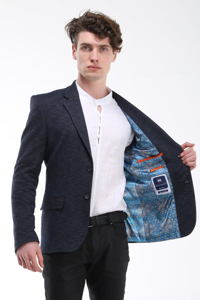 Slim Fit Textured Sport Coat