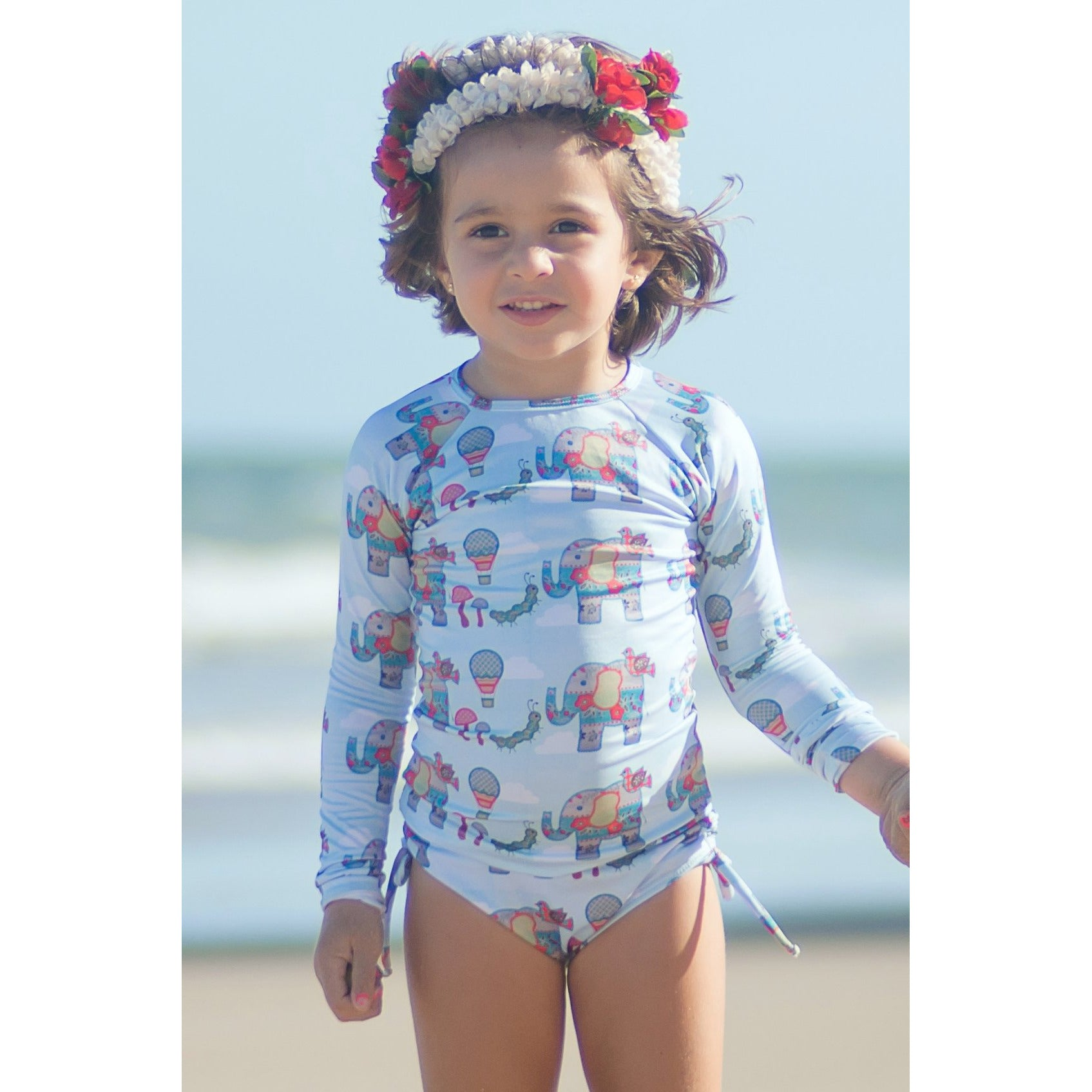 Kailua Rash Guard Set - Luna