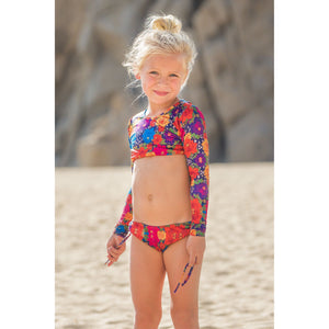Girls Crop Set Santa Cruz  - Print Zoe