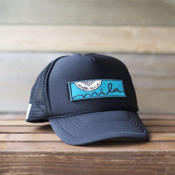 Trucker Patch Hat with Mila Patch – MILA  690433d30243