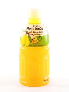 Mogu Mogu Mango Juice With Nata De Coco 10.28oz