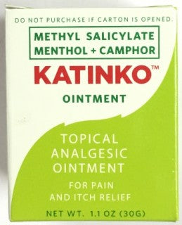 Katinko Topical Analgesic Ointment 30g