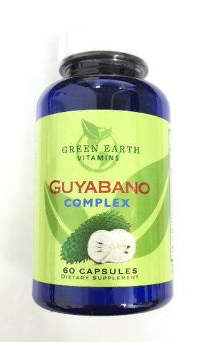 Green Earth Vitamins Guyabano Complex 60 Capsules