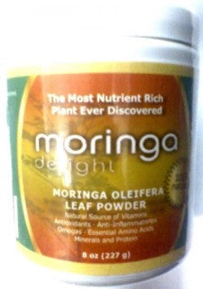 Moringa Delight Powder 8oz