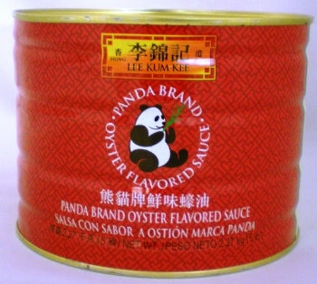 Lee Kum Kee Oyster Sauce Panda Can 4lbs