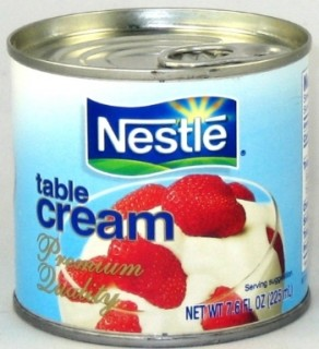 Nestle Table Cream 8oz