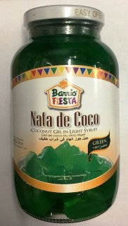 Barrio Fiesta Coconut Gel In Light Syrup Green 24oz