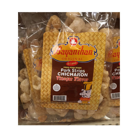 Bayanihan Pork Strips Chicharon (Vinegar Flavor)