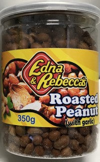 Edna Rebecca Roasted Peanut With Garlic 350g