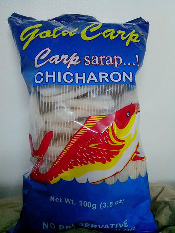 Gold Carp Fish Chicharon 100g