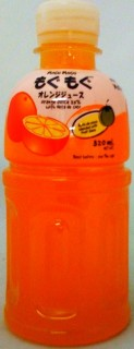 Mogu Mogu Orange Juice With Nata De Coco 10.82oz