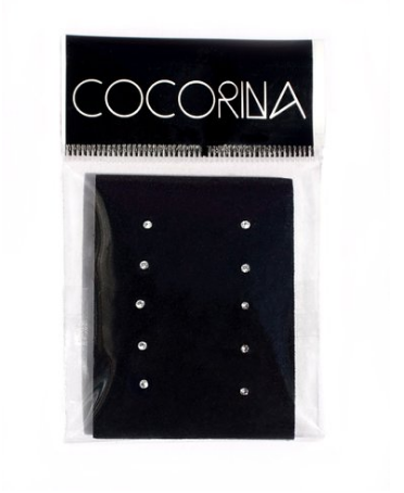 Cocorina Set of 10 Tiny Crystal Nose Studs 24G