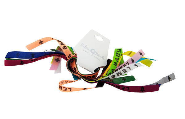 Bahia Band - Brazilian Wish Bracelets 'Wish Pack' of 12 Colors