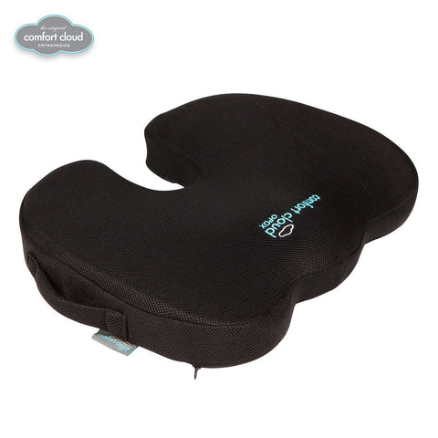 ... Comfort Cloud Premium Coccyx Hybrid Gel Seat Cushion- Breathable Mesh,  Memory Foam, Cooling ... - Comfort Cloud Premium Coccyx Hybrid Gel Seat Cushion- Breathable