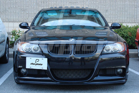 BMW 3-Series (E90 Sedan/E91 Wagon) Regular/M-Sport bumper 2006-2011 rho-plate V2