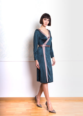 Lethe Wrap Dress