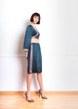 Lethe Skirt with Side Stripe