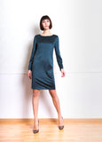 Lethe Dress with Side Stripe