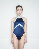 Alcyoneus Blue and Light Blue Swimsuit