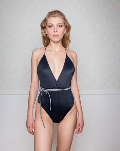 Ftonia Black Swimsuit