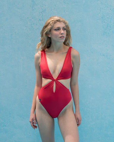 Methoni Red Swimsuit