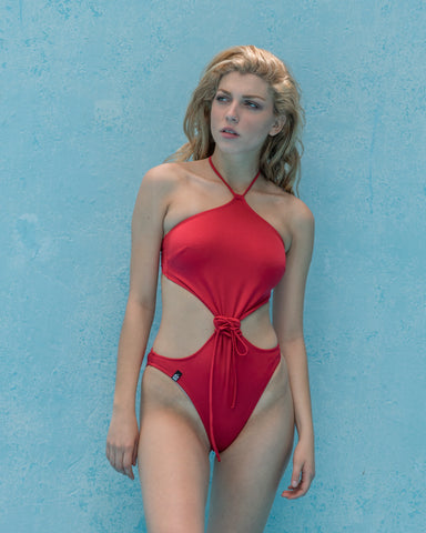 Nymphia Red Swimsuit