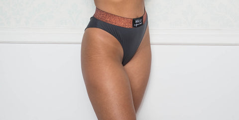 Dark Gray Brazilian Briefs