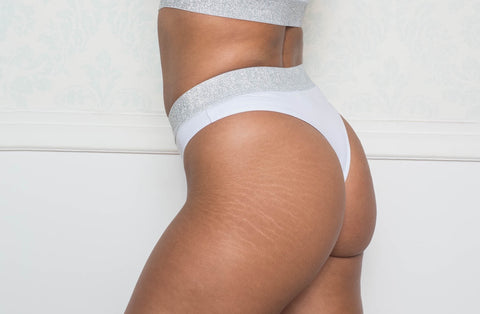 White Thong Briefs