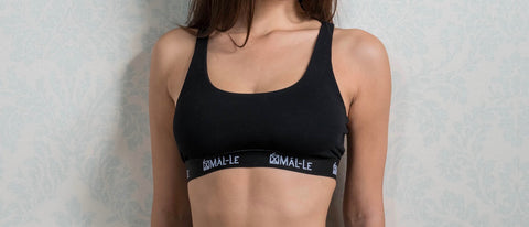 Basic Black Sporty Bra