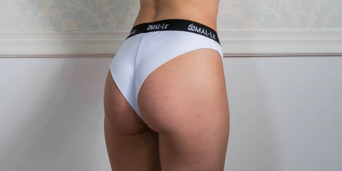 Basic White Brazilian Briefs