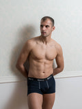 Basic Dark Blue Male Trunk Underwear