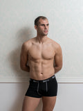 Basic Black Male Trunk Underwear