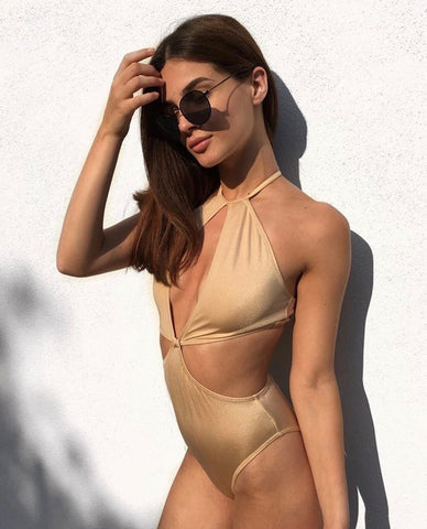 Drimo Gold Swimsuit