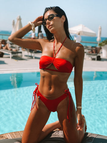 Red Bikini Set