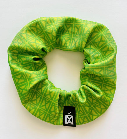 Scrunchies Logo Green