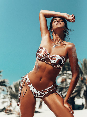 Cow Bikini Swimsuit