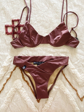 Brown Limited Bikini