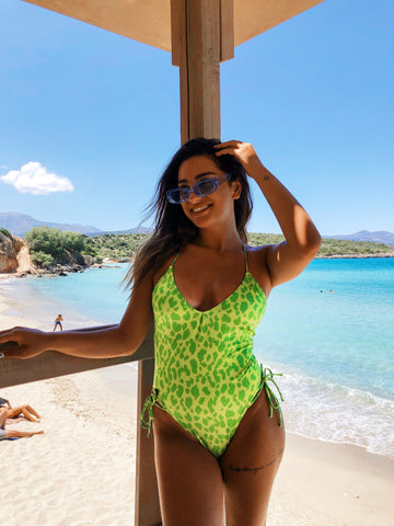 Green Animal One Piece