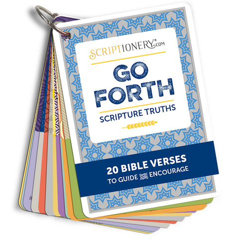 Go Forth Scripture Cards