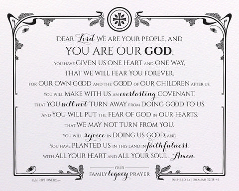 Legacy Prayer Art Print