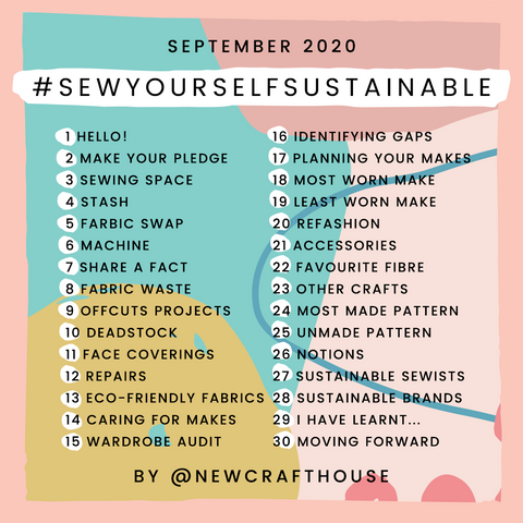 Sew yourself sustainable