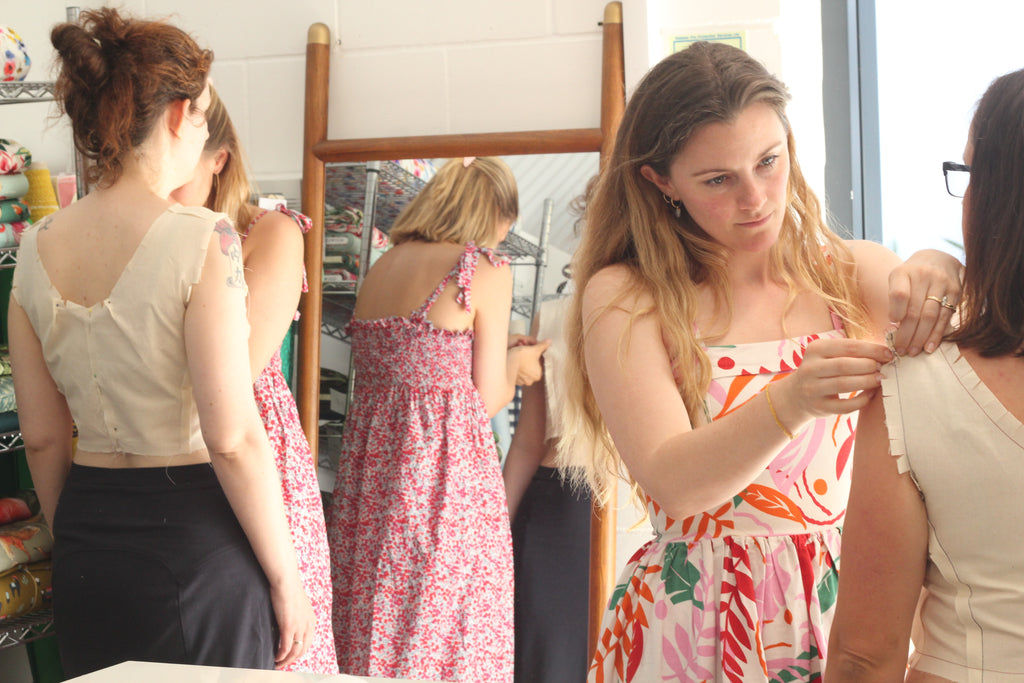 Bodice Fitting Masterclass with By Hand London