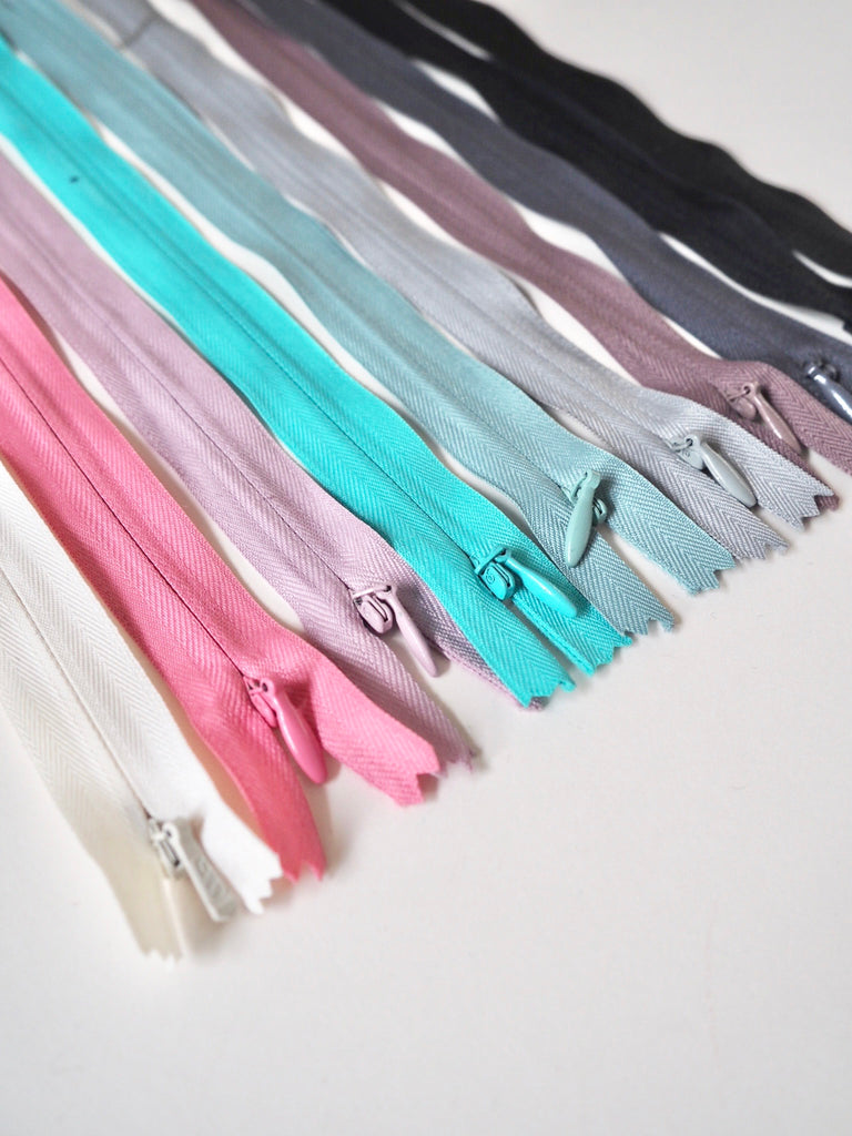 25cm/10inch Concealed Invisible Zips