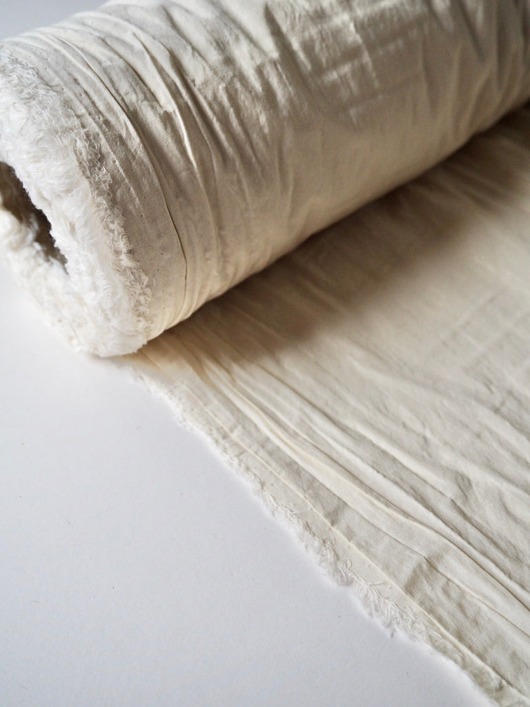 Ecru Sheen Cotton